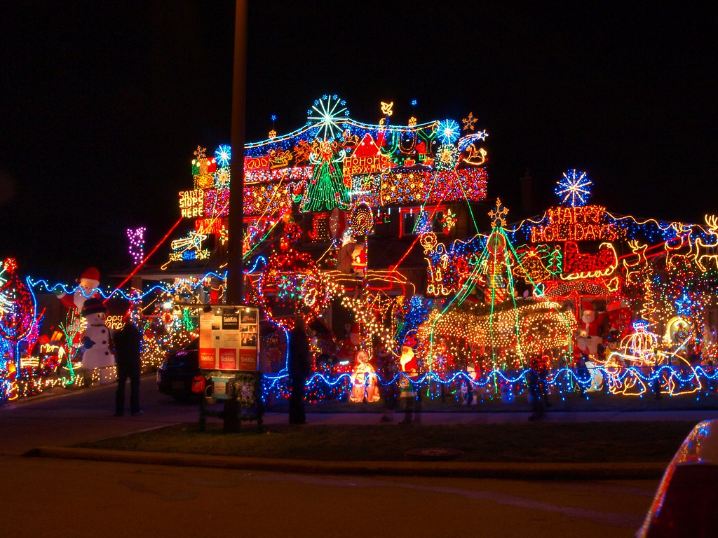 Best Christmas Light Displays in the United States