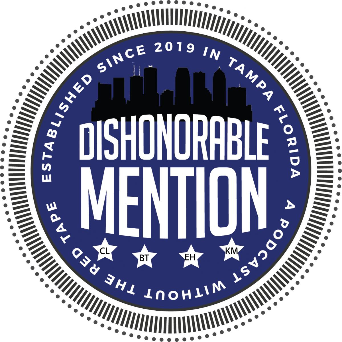 Dishonorable Mention Podcast Episode 37: Mental-Health, Ethical Issues in Media, and Becca's Israel Trip