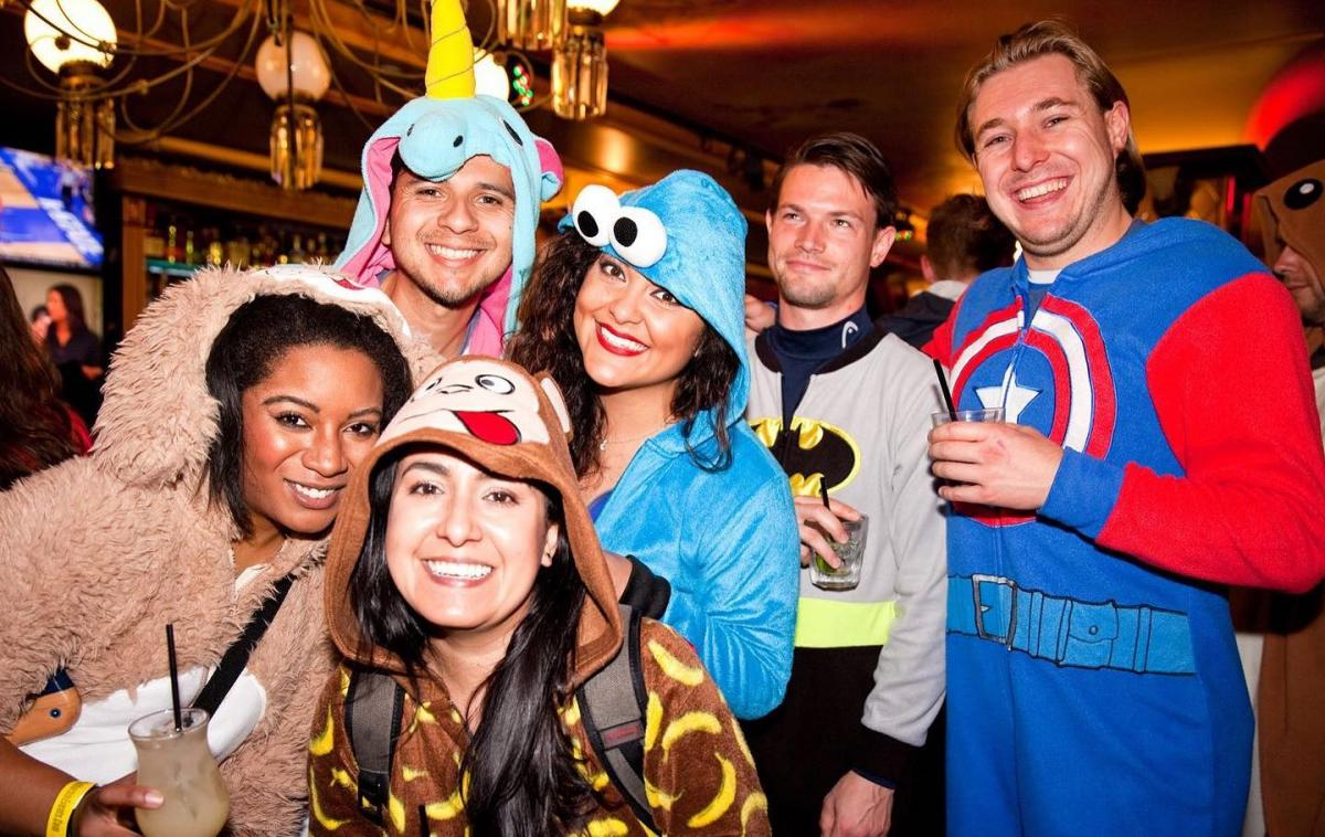 Tampa's Thanksgiving Weekend Onesie & Pajama Bar Crawl With Downtown Crawlers