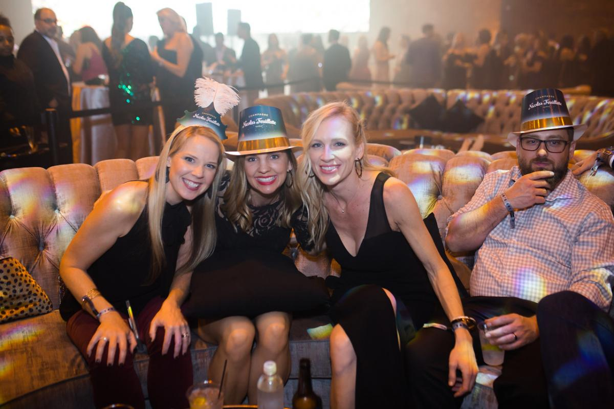 Celebrate Like the VIP You Were Born to Be at the NYE 2020 Gala in Armature Works