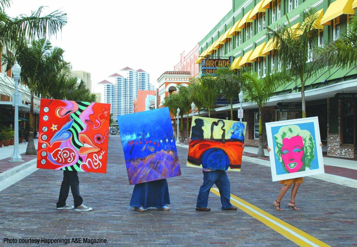 Ft. Myers Art Walk | First Fridays, Downtown
