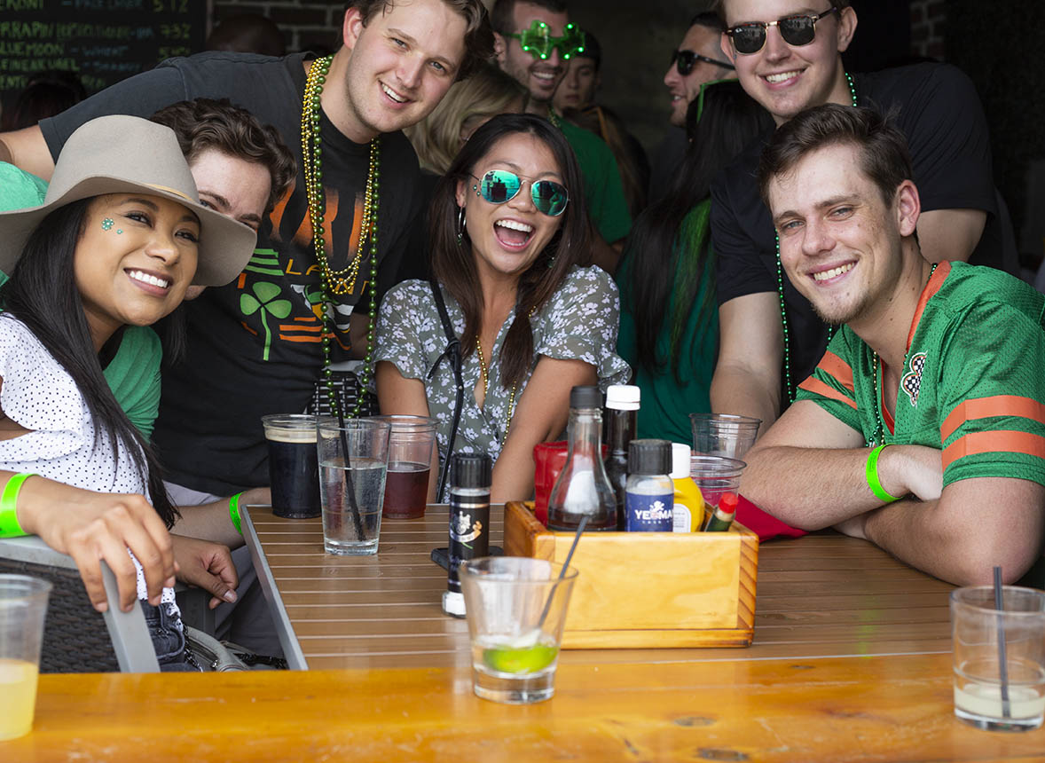 Downtown Crawlers Celebrates St. Paddy's Day Three Ways This Month