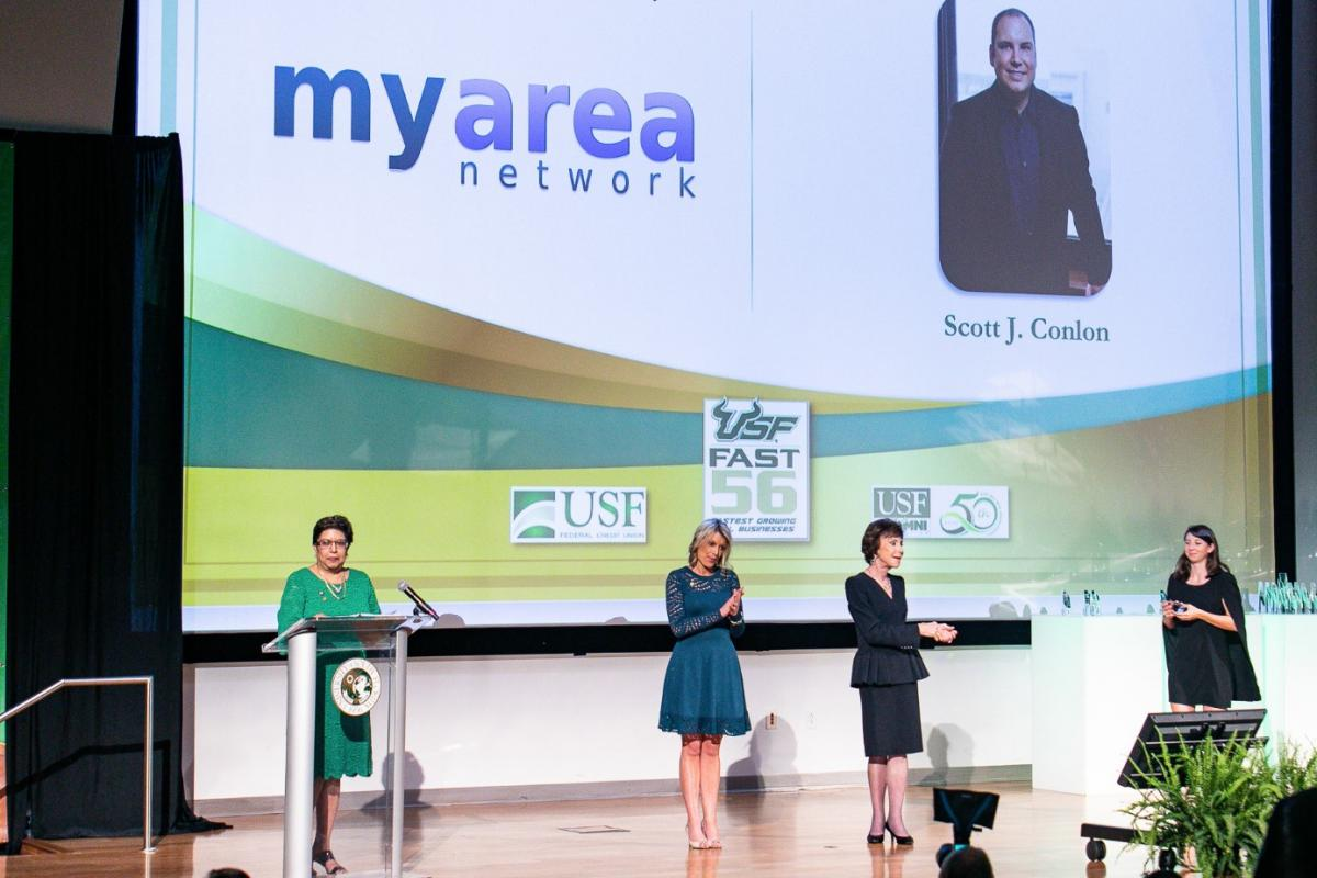 MyArea Network Nominated for the University of South Florida Fast 56 Award for the 4th Consecutive Year