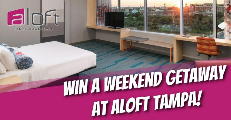 Aloft Tampa Downtown | Enter To WIN a Weekend Getaway!