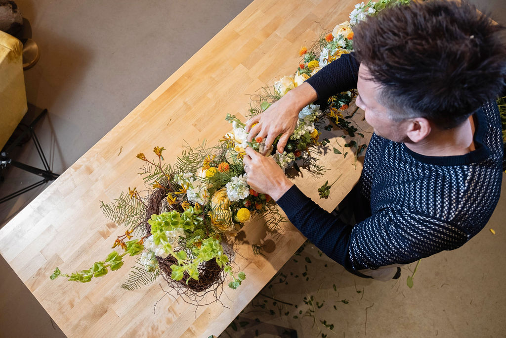 Arrange Flowers Like a Pro with Virtual Classes from Tailored Twig