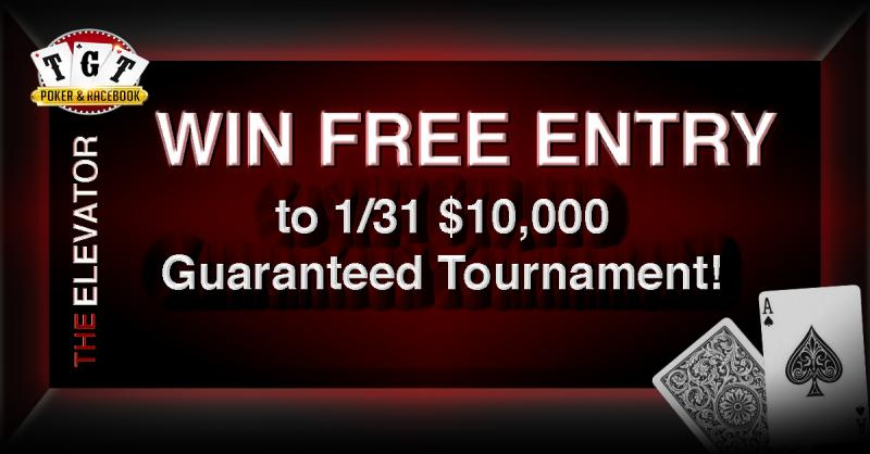 TGT Poker Room | Enter for FREE Entry to our $10,000 Guaranteed Tournament!