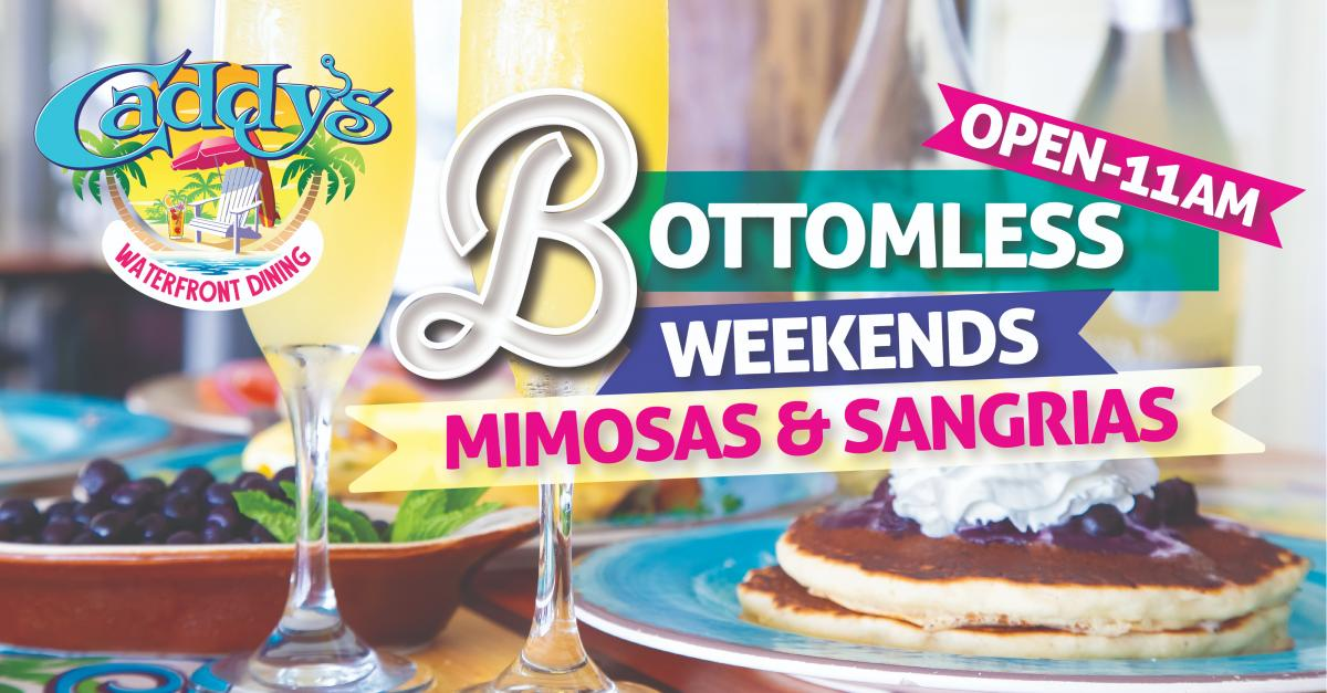 Start Your Weekend Off Right with Bottomless Weekends at Caddy's