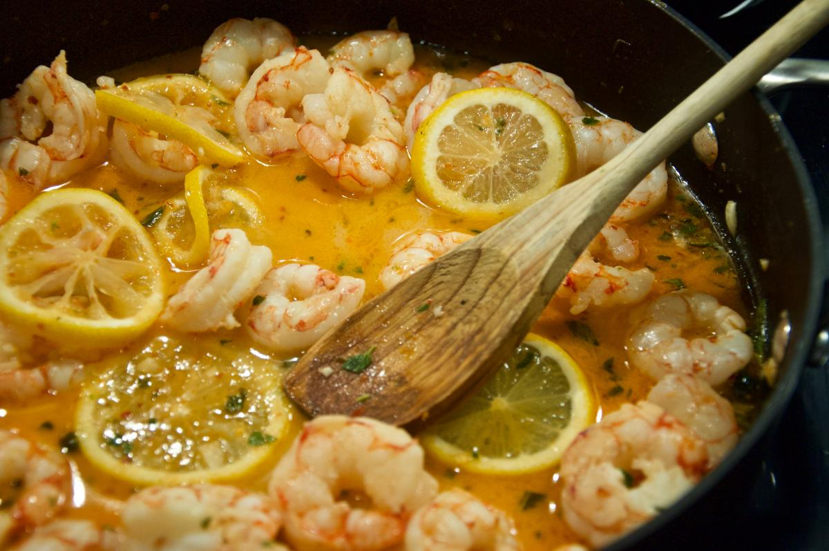 Best Shrimp Scampi in St. Pete and Clearwater