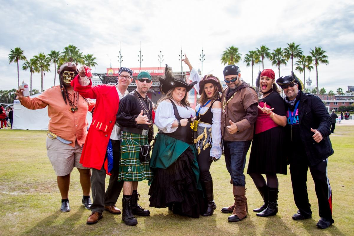 What to Expect at Gasparilla | Parking, Food, + More