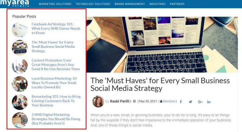 Business Website Blog