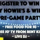 How to Win Hungry Howie's New Big Game Party