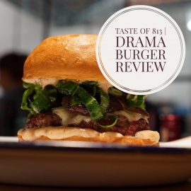 Drama Burger: Burger with Pastrami and Lithuanian Roots