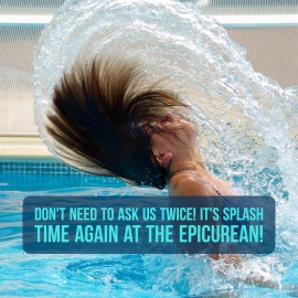 813 Spotlight   The Epicurean Hotel's Sexy SPLASH Pool Parties