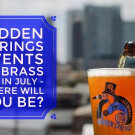 Tap In to Hidden Springs Fun at Brass Tap This July