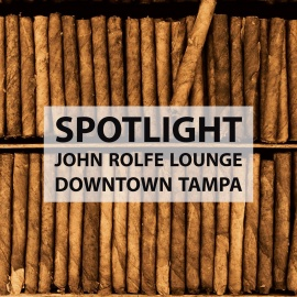 813 Spotlight | John Rolfe Lounge in Downtown Tampa