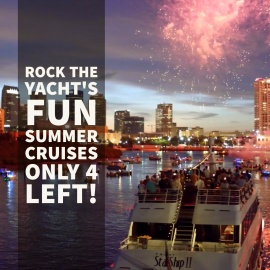 Rock The Yacht's Fun Summer Cruises To Exit with a Big Bang!