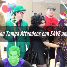 How MegaCon Tampa Attendees can SAVE and WIN $1000