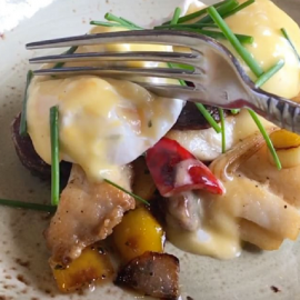 The Vinoy | Redefining Breakfast with a Hearty Grouper Hash
