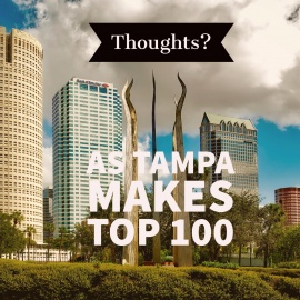 Food for Thought as Tampa is Named to Top 100
