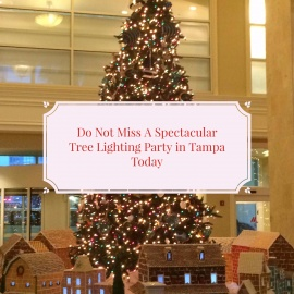 Don't Miss This Spectacular Tree Lighting Party in Tampa Today