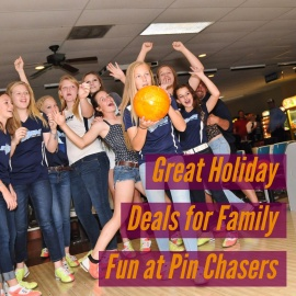 Easy Holiday Family Fun in Tampa at Pin Chasers