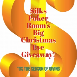 'Tis the Season of Giving at the Silks Poker Room's Big Christmas Eve Giveaway!