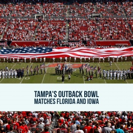 Tampa's Outback Bowl Matches Florida and Iowa