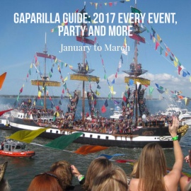 Gasparilla Guide: Tampa Bays Piratical Season 2017