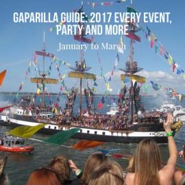 Gasparilla Guide: Tampa Bays Piratical Season 2017