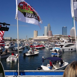Clearwater Invades Tampa Bay with Dockside Party Gasparilla 2017