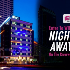 Aloft Hotel – Win a Night Away on the Riverwalk