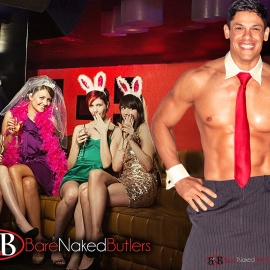 The Bare Naked Butlers Official Launch Party At One80 Skytop Lounge Will Serve Your Every Need