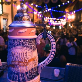 Cheers To Beer With Oktoberfest On Wall Street Plaza