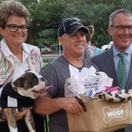 City Of Orlando Celebrates New Downtown Dog Park