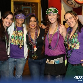 Celebrate Mardi Gras And Experience The Big Easy On Wall Street Plaza