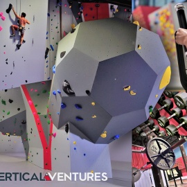 Take Your Workout to the Next Level at this Indoor Climbing Gym