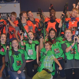 Q-Zar Tampa Laser Tag Offers More than a Game