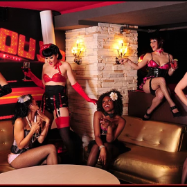Stardust Lounge Strips Down With Burlesque Peekaboo Show