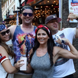 Wall Street Plaza Hosts The Ultimate Sunday Funday All American Block Party