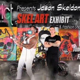 Aloft Tampa Downtown | District Magazine Presents SKEL Art Exhibit