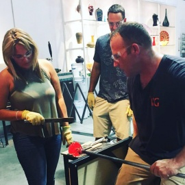 International Hot Glass Offers Orlando's Only Walk-in Workshop