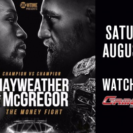 GameTime Ybor to Carry the Mayweather McGregor Fight in Tampa