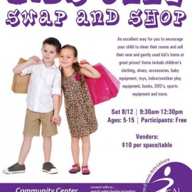 Good Habits for Kids ~ Swap and Shop Helps Ring in the School Year!
