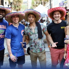 Wall Street Plaza Hosts 8th Annual Margarita Fest In Downtown Orlando