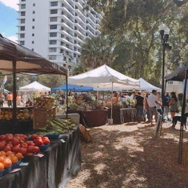 Orlando Farmers Market | Lake Eola Park