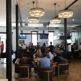An In-depth Look Inside The Newly Opened Hall on Franklin