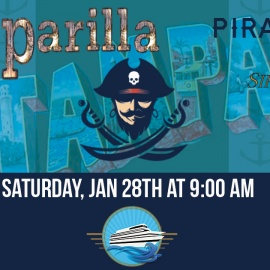 Feast and Plunder Aboard the Sir Winston Gasparilla 2017