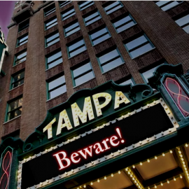 5th Annual Nightmare on Franklin Street Series Returns to Tampa Theatre for a Month of Halloween Scares