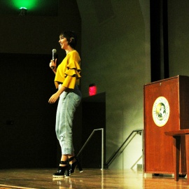 Actress Jackie Cruz, 'Flaca' from OITNB, Draws Big Crowd at USF Lecture Series