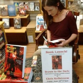 Local Author's Fascination with Horror Has Her Traveling to 11 Countries Writing About Monster Festivals and Attractions in her New Book